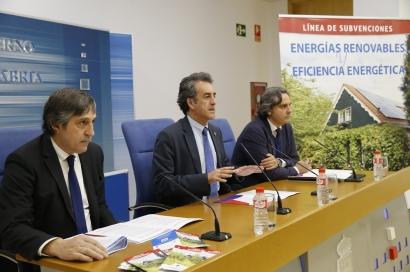 Casi un millón de euros en ayudas a las renovables y la eficiencia energética en Cantabria