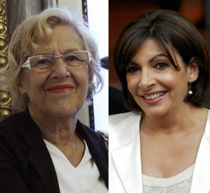 La alcaldesa de Madrid, en el congreso de la Unesco sobre financiación contra el cambio climático