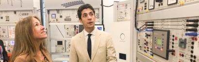 Inauguran el primer laboratorio de capacitación en redes eléctricas inteligentes del país