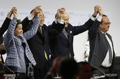 Acuerdo histórico en París