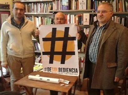 """Contra la coalición mafiosa que forman el Gobierno y Unesa, """"deSOLbediencia"""""""