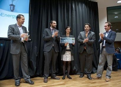Ecomesh, ganador de la primera edición del KIC InnoEnergy Iberia Award