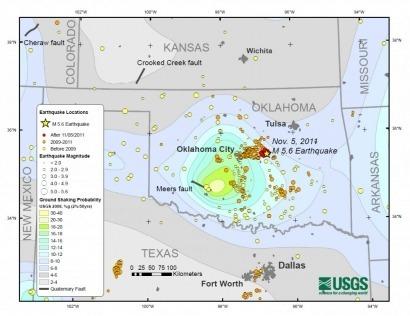 Un estudio relaciona fracking y terremotos