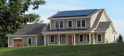 Presentan una casa piloto que genera más energía de la que consume