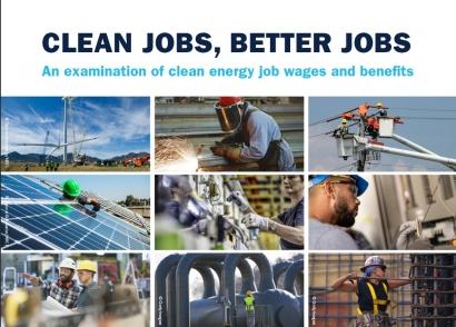 Los trabajos en el sector de las energías renovables son un 36 % mejor pagados que la media nacional