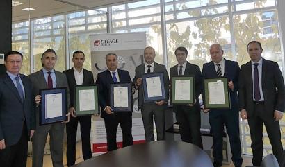 Eiffage Energía recibe nuevos certificados de Aenor