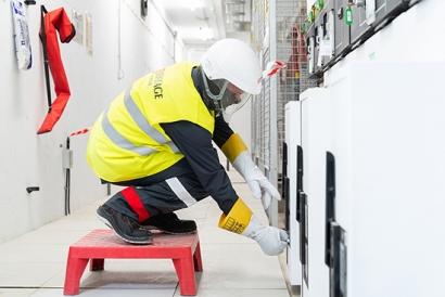 Eiffage Energía ha reducido un 90% el número de accidentes laborales en ocho años