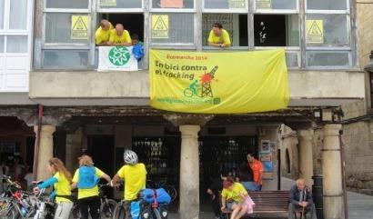 La #Ecomarcha contra el fracking llega a su ecuador