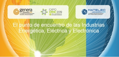 Santiago: En noviembre se realizarán conjuntamente Expo ERNC, Matelec y Genera Latinoamérica