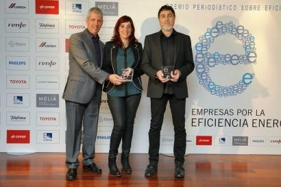 Energías Renovables recibe el primer Premio Periodístico de Eficiencia Energética