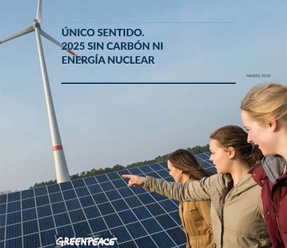Cerrar las nucleares y las térmicas de carbón en 2025 es viable, asegura Greenpeace en un nuevo informe