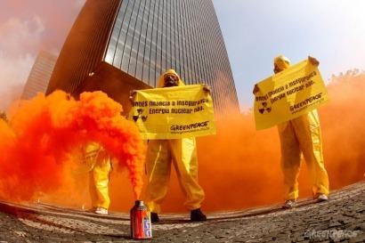 """Un """"no"""" a las centrales nucleares"""