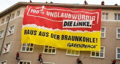 Greenpeace señala las contradicciones internas de la izquierda alemana