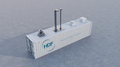 Conectarán un parque solar al sistema de almacenamiento más grande del mundo ¡y basado en hidrógeno!