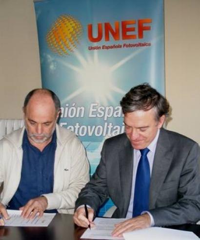 UNEF y Energía Sin Fronteras unen esfuerzos