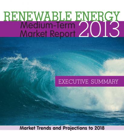 Las renovables serán la segunda fuente de generación eléctrica mundial en 2018