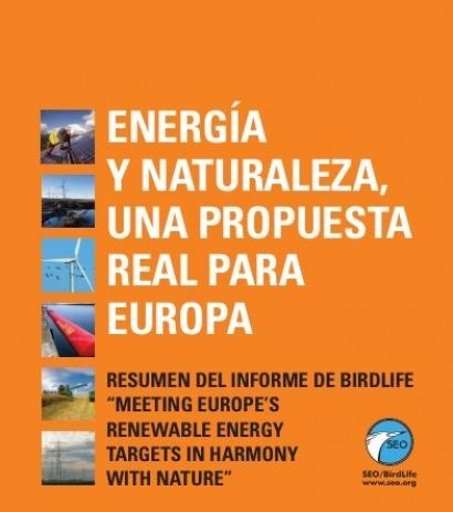 SEO/BirdLife lanza un documento para fomentar las energías renovables en la UE
