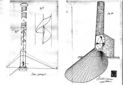 Las torres solares que inventó Isidoro Cabanyes en el siglo XIX