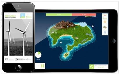 """""""Isla 100%"""", un juego didáctico multiplataforma sobre energías renovables en islas"""