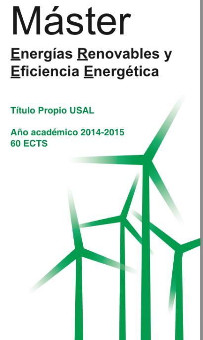 Nuevo máster en renovables y eficiencia energética de la USAL y el Ciemat