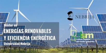 La Universidad Nebrija y el Instituto Superior del Medio Ambiente lanzan un Máster en Energías Renovables y Eficiencia Energética