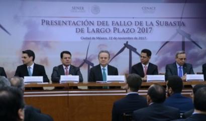 MÉXICO: La tercera subasta eléctrica coloca más de 2 GW renovables y consigue precios bajos históricos