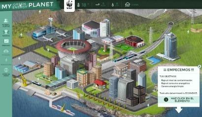 WWF y AXA lanzan el juego My Green Energy Planet