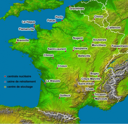 Francia cerrará hasta 17 nucleares antes de 2025