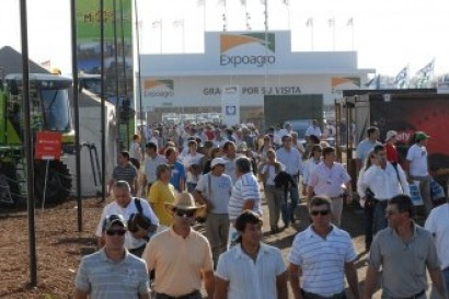 La feria Expoagro destinó un espacio central a las renovables