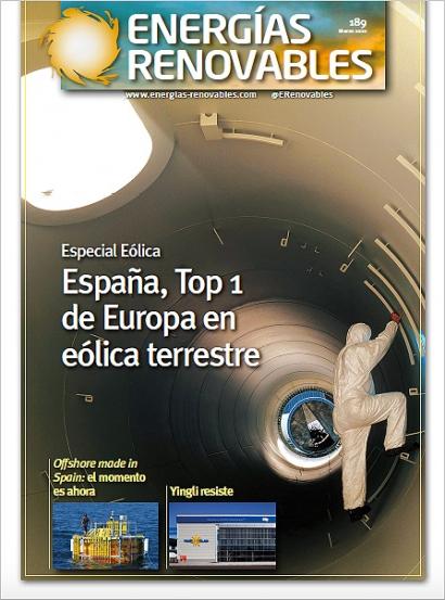 Especial Eólica: España, Top 1 de Europa en eólica terrestre
