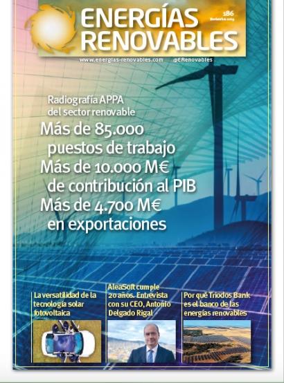 Radiografía APPA del sector renovable: empleo, riqueza, exportaciones