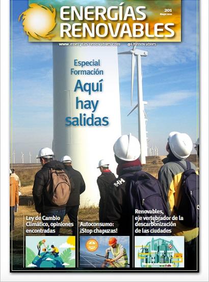 Número de mayo de Energías Renovables en papel-Especial Formación: Aquí hay salidas