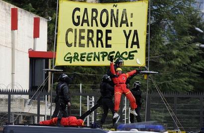 Greenpeace: 10 razones para continuar con el cierre de Garoña