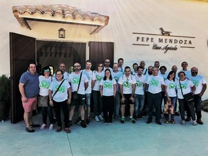 Bornay celebró San Bornay 2019 entre vino y tecnología