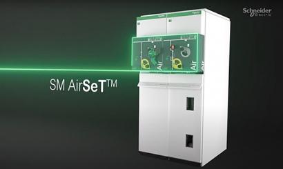 Schneider Electric presenta SM AirSeT, su nueva gama de celdas de media tensión sin gases de efecto invernadero