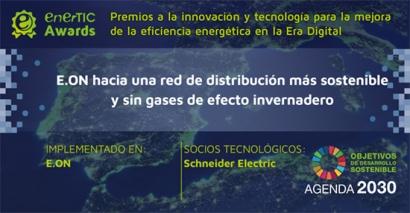El proyecto de Schneider Electric para eliminar el SF6 gana el premio enerTIC en la categoría Smart Grid
