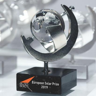 Eurosolar premia al movimiento juvenil mundial Fridays For Future