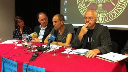 """Ángel Vadillo: """"Si el Gobierno aprueba la reforma energética seguiré con la huelga"""""""
