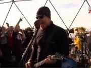 Rock renovable en la Antártida con Metallica