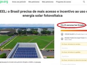Una petición por el derecho a producir la propia energía ya tiene más de 170 mil firmas (y subiendo)