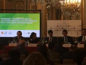 Presentación en Madrid de las oportunidades de inversiones en energías renovables