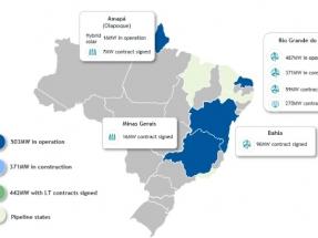 Rio Grande do Norte: Voltalia asegura un PPA para el parque eólico VSM 3, de 150 MW, que ha comenzado a construir