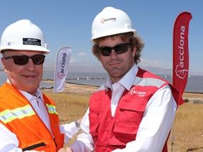 La Empresa Nacional de Minería acuerda con Acciona para que la provea al 100% de energía renovable