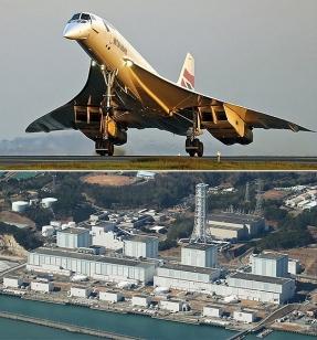 En qué se parecen el Concorde y Fukushima