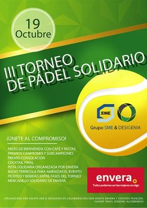 SME & Desigenia celebran su III Torneo de Pádel Solidario