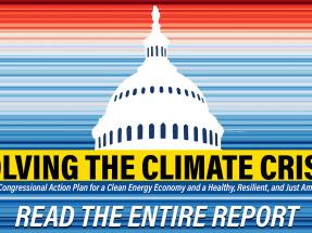 Congresistas demócratas proponen un plan para que en 2050 se llegue a cero emisiones netas de carbono