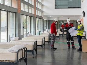 Eiffage Energía coordina las obras del hospital de campaña en la Facultad de Medicina de Albacete