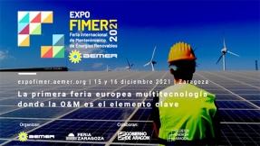 ExpoFimer reunirá en Zaragoza a los principales actores del mantenimiento de energías renovables