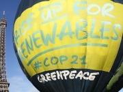 Greenpeace pide medidas reales y no solo buenas palabras en la Cumbre del Clima de París