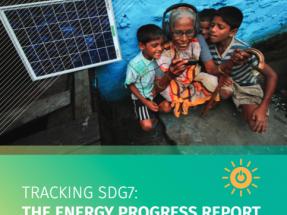 El avance hacia los objetivos mundiales en energía sostenible es decepcionante
